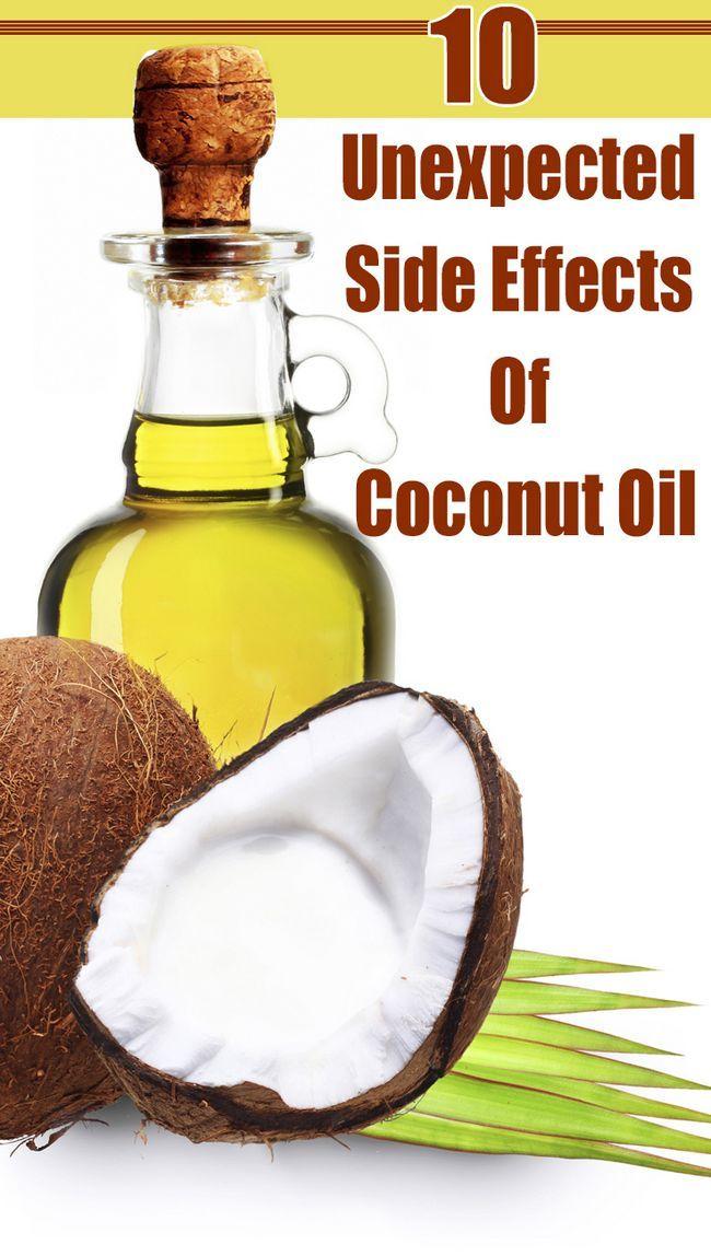 10 Unerwartete Nebenwirkungen von Kokosöl