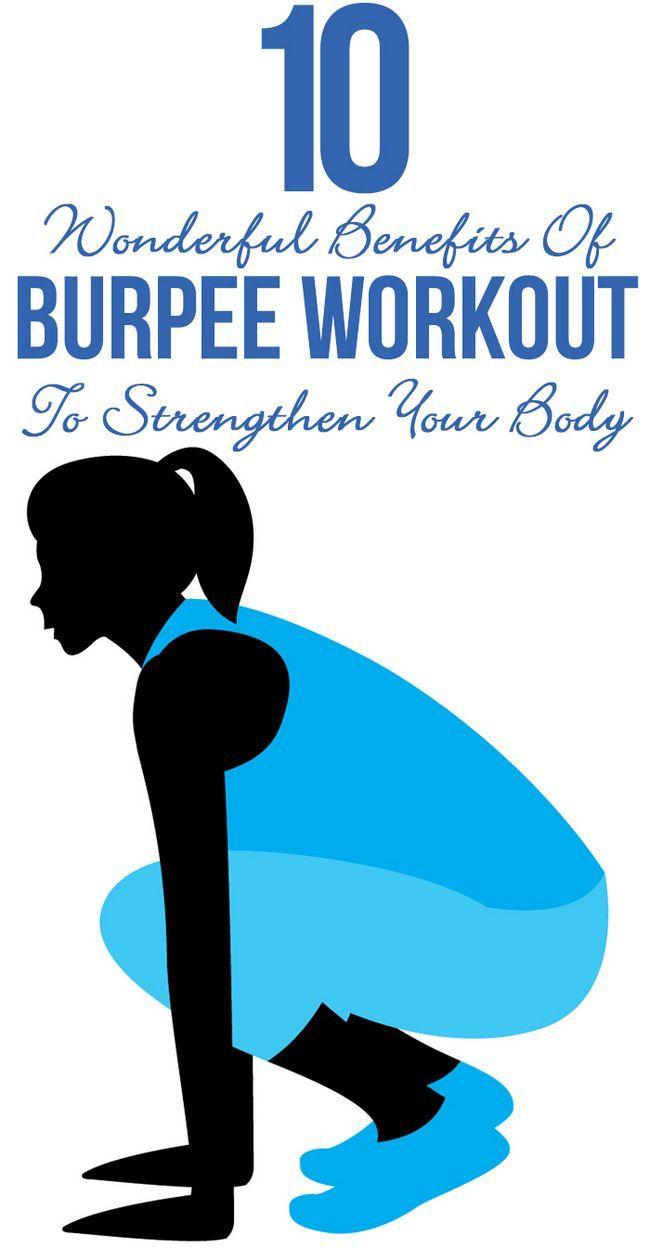 10 Wunderbare Vorteile von burpee Training Ihren Körper zu stärken