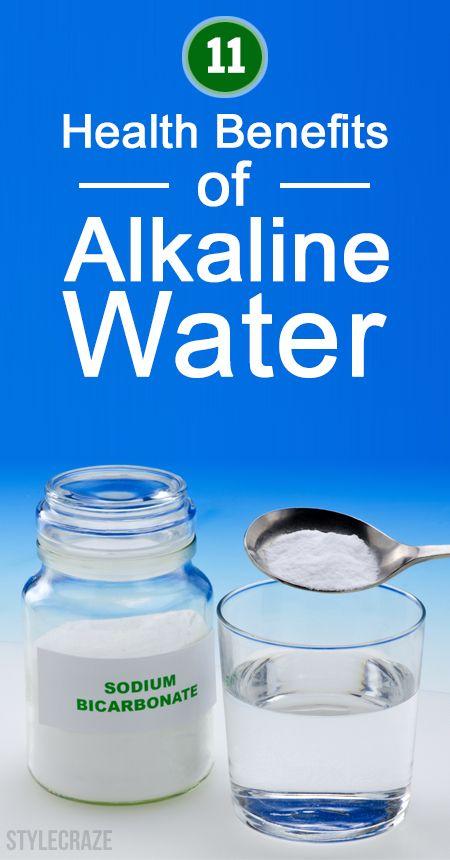 11 Erstaunliche gesundheitliche Vorteile von alkalischem Wasser