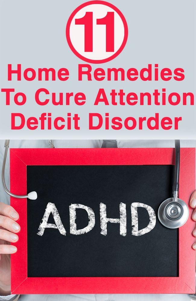 11 Wirksame Hausmittel Aufmerksamkeits-Defizit-Störung zu heilen