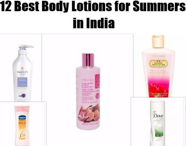 12 Top Körperlotionen für den Sommer in Indien