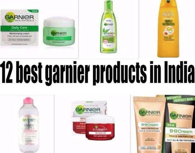 12 Top garnier Produkte in Indien: Haut, Haare