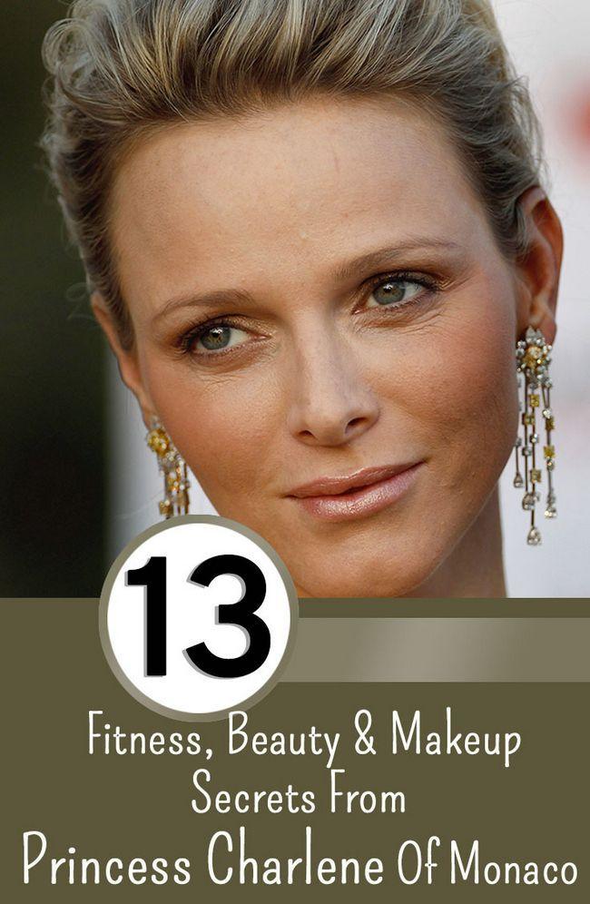 13 Fitness, Schönheit und Make-up Geheimnisse von Prinzessin Charlene von Monaco
