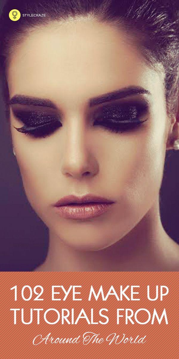 135 Augen-Make up-Tutorials aus der ganzen Welt