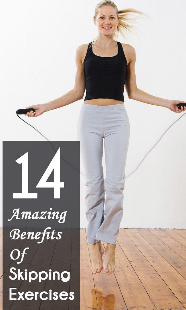 14 Erstaunliche Vorteile von Übungen für Ihren Körper Skipping