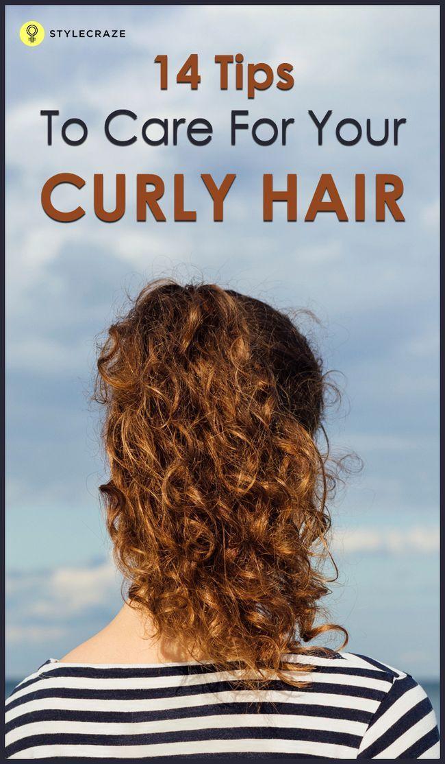 14 Grund lockige Haarpflege-Tipps
