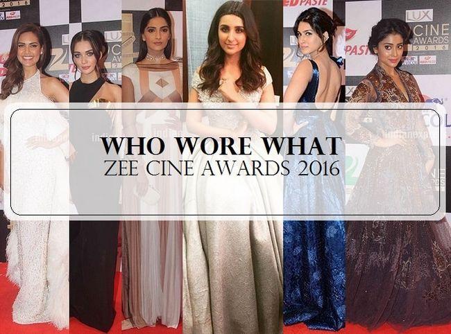 14 Top und schlechtesten gekleidet Promis bei Zee Cine Award 2016