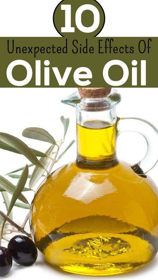 14 Unerwartete Nebenwirkungen von Olivenöl