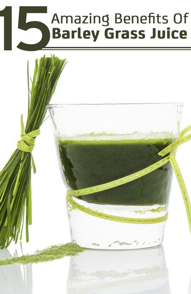 15 Erstaunliche Vorteile von Gerstengrassaft