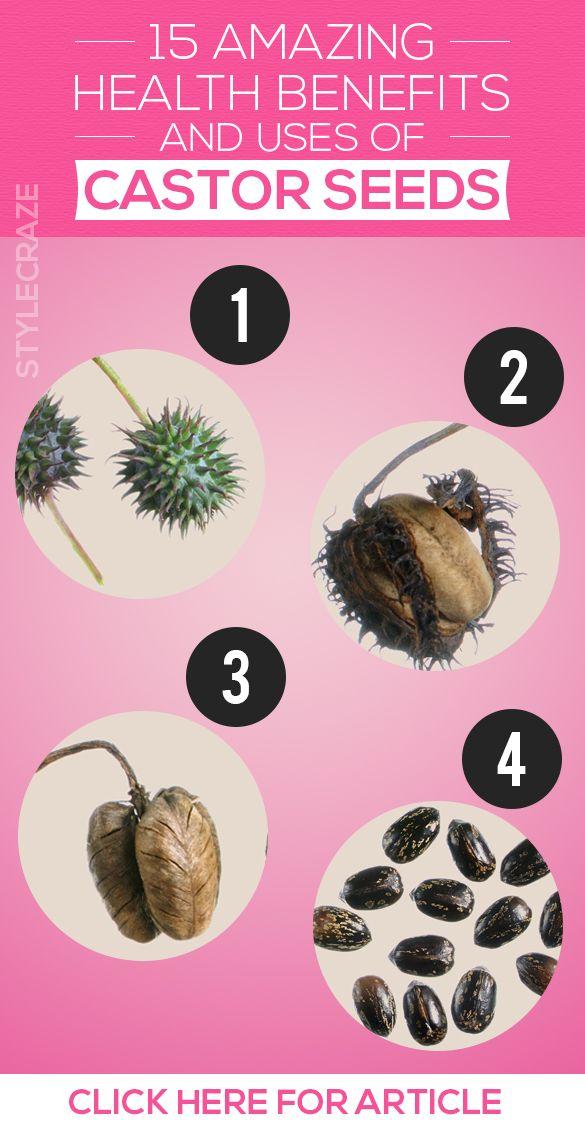 15 Erstaunlicher Nutzen für die Gesundheit und die Verwendung von Rizinussamen (Arand ke beej)