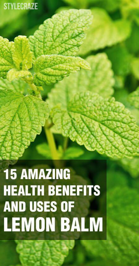 15 Erstaunlicher Nutzen für die Gesundheit und die Verwendung von Zitronenmelisse