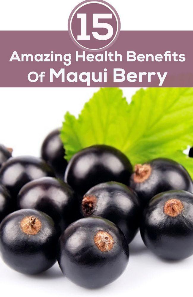 15 Erstaunliche gesundheitliche Vorteile von Maqui-Beere