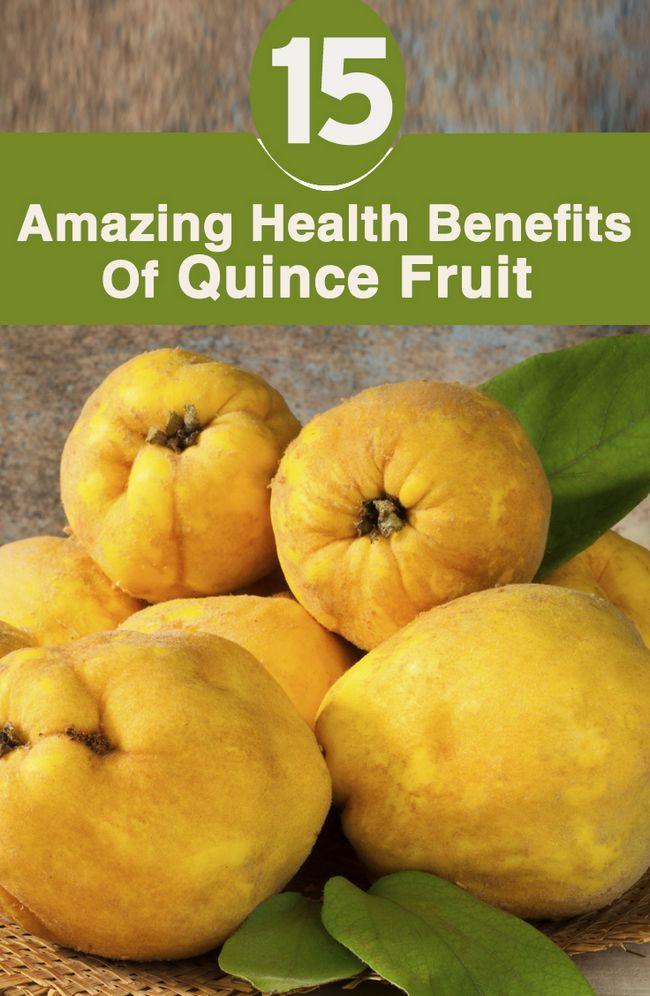 15 Erstaunliche gesundheitliche Vorteile von Quitte Frucht