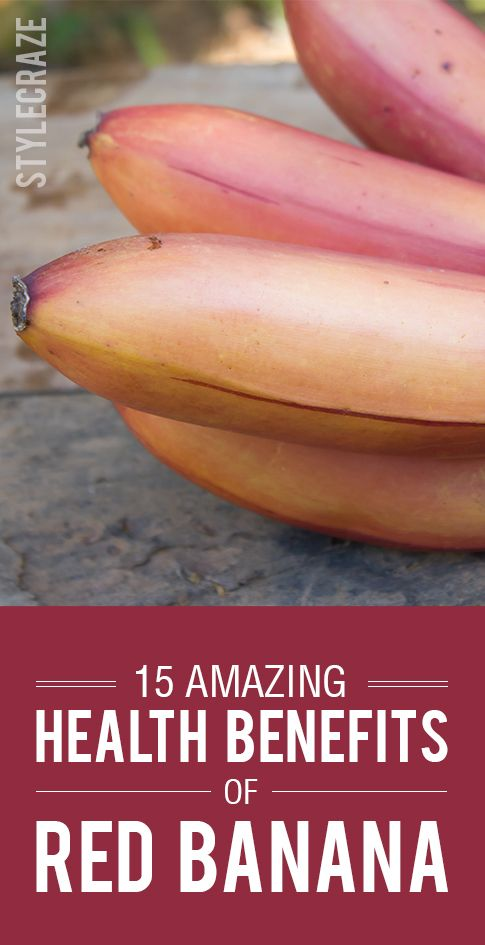 15 Erstaunlicher Nutzen für die Gesundheit der roten Banane
