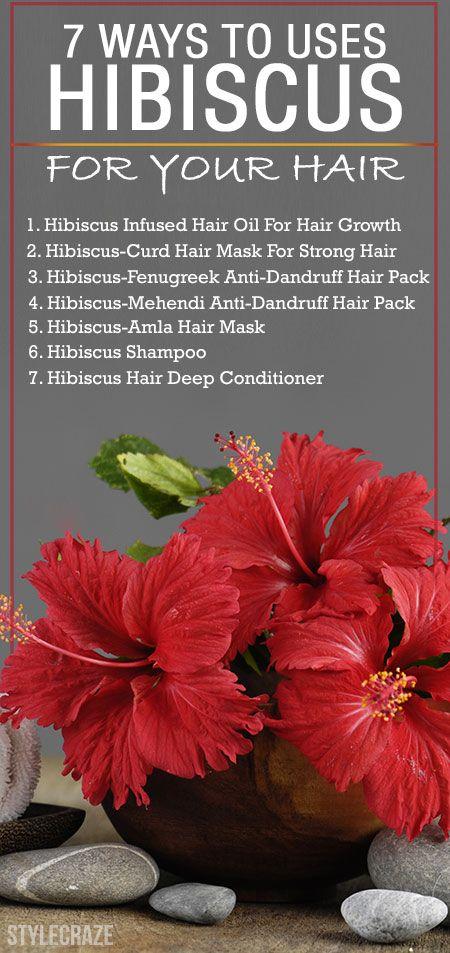 15 Erstaunliche Möglichkeiten, Hibiskus für Ihr Haar zu verwenden,