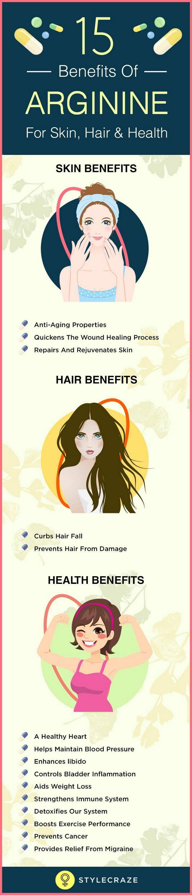 15 Top Vorteile von Arginin für Haut, Haare und Gesundheit