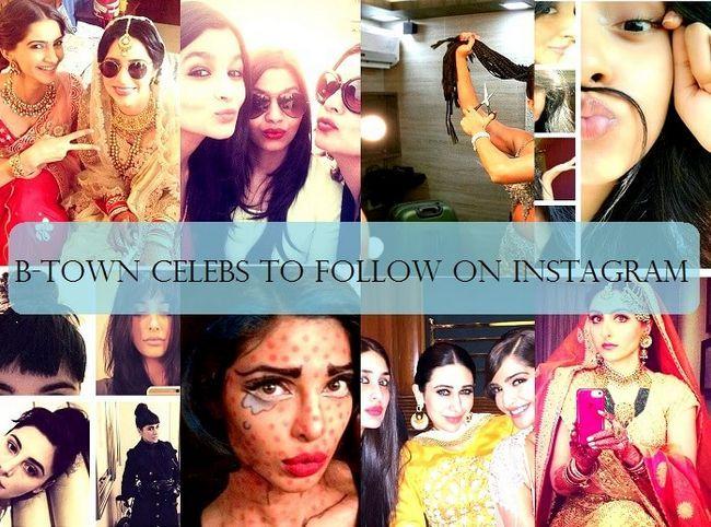 15 Bollywood Berühmtheiten Sie auf instagram folgen