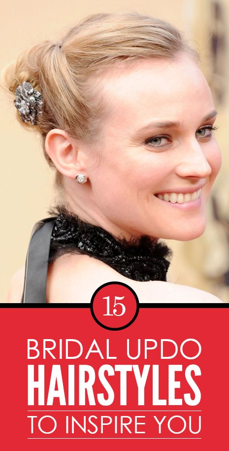 15 Braut updo Frisuren Sie begeistern
