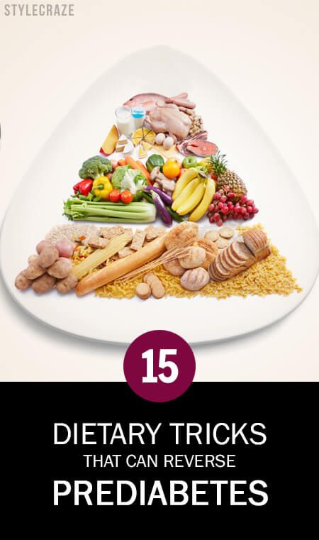15 Dietary Tricks, die Prädiabetes rückgängig machen kann!