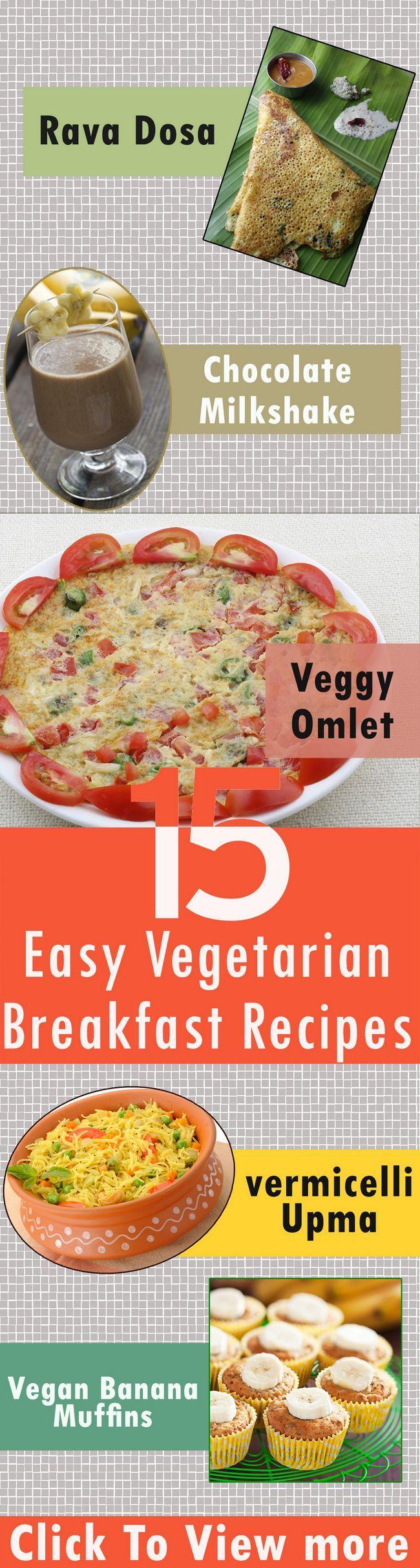 15 Einfach vegetarisches Frühstück Rezepte heute ausprobieren