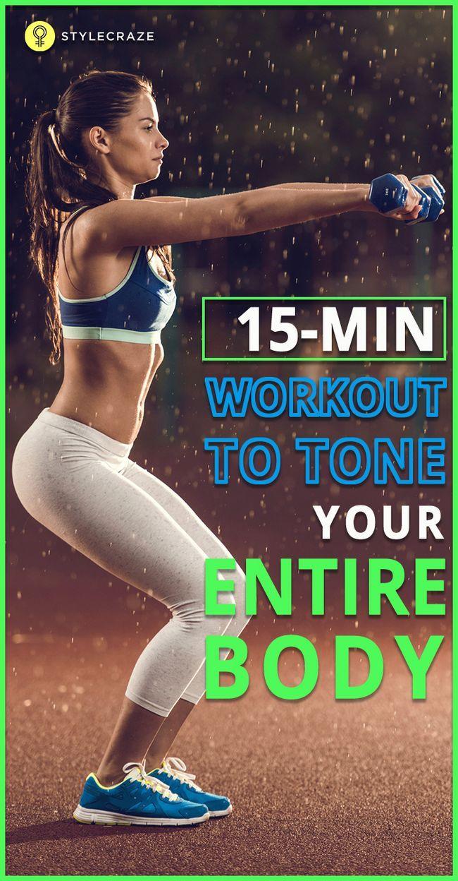 15 Minute Ganzkörpertraining Ihren Körper Ton