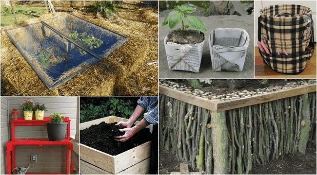 15 Muss DIYs sehen Sie Ihren Garten bereit für den Frühling zu bekommen