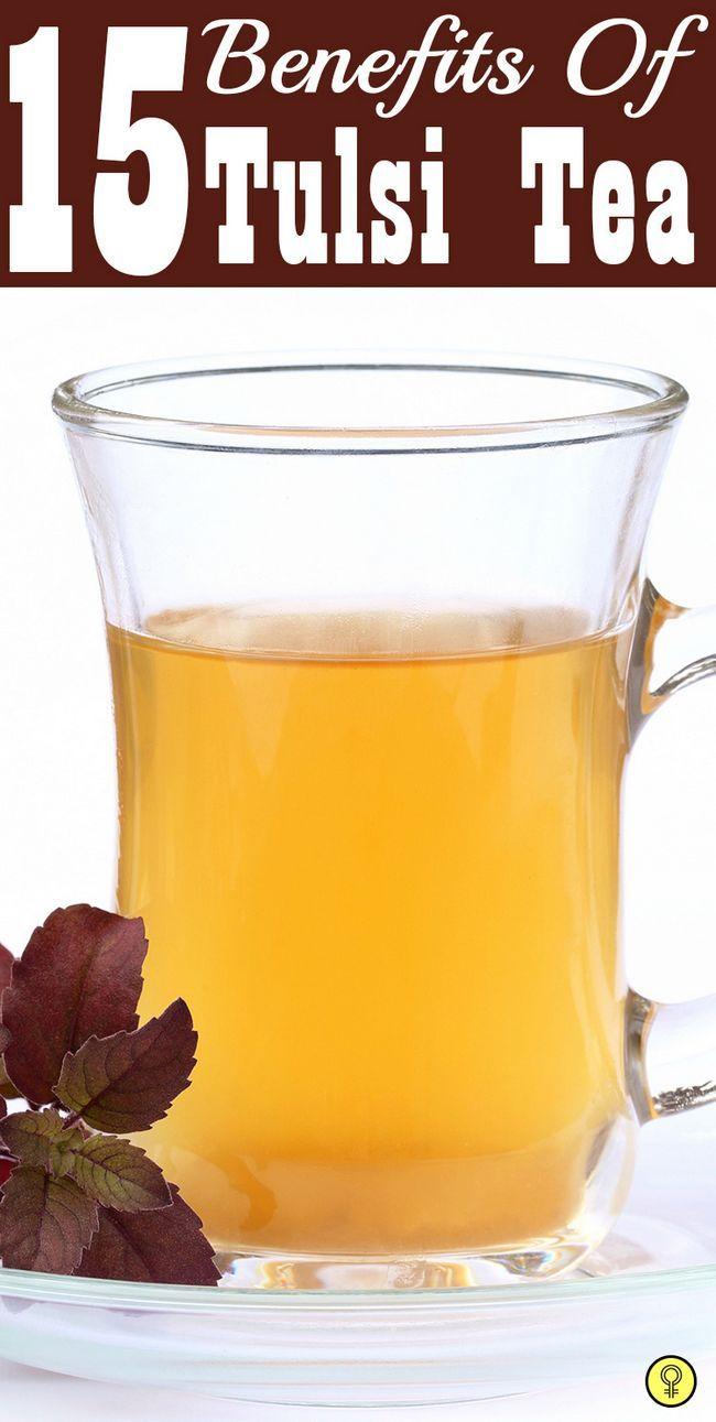 15 Wunderbare Vorteile von Tulsi Tee