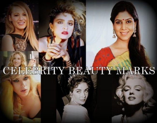 16 Berühmte Persönlichkeiten mit Schönheitsflecken