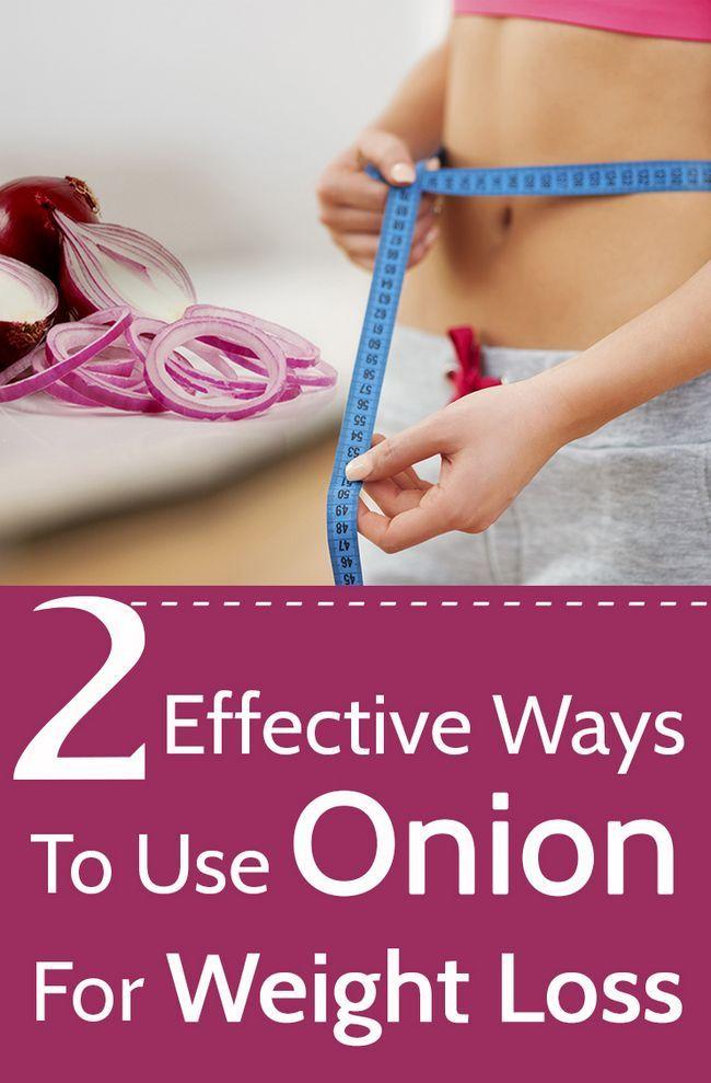 2 Effektive Möglichkeiten Zwiebel für die Gewichtsabnahme zu verwenden