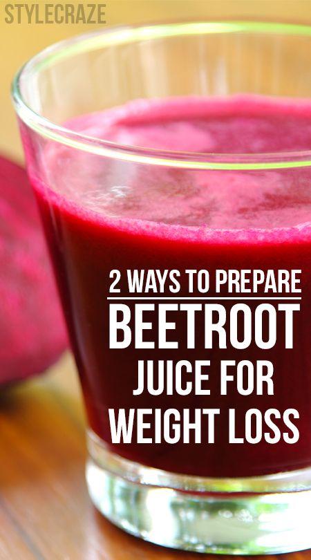 2 Einfache Wege Rote-Bete-Saft für die Gewichtsabnahme vorbereiten