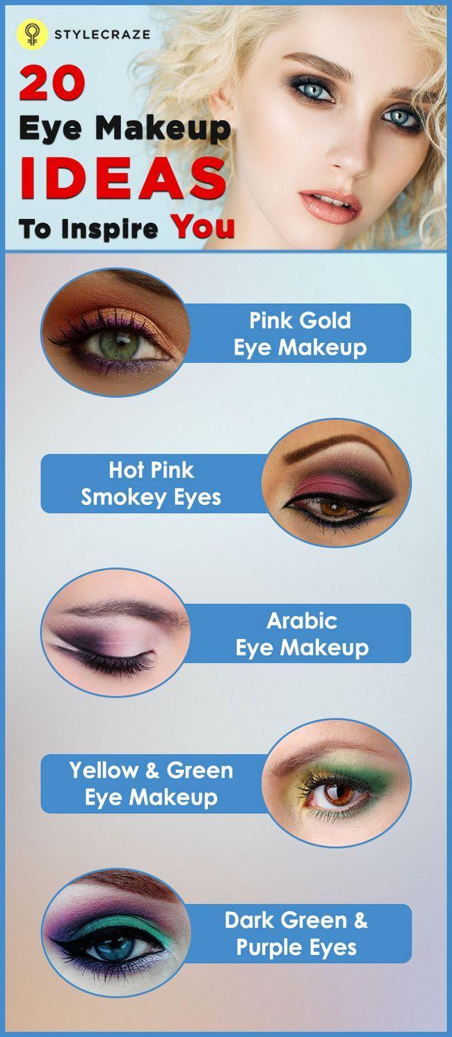 20 Erstaunliche Augen Make-up Bilder, die Sie begeistern