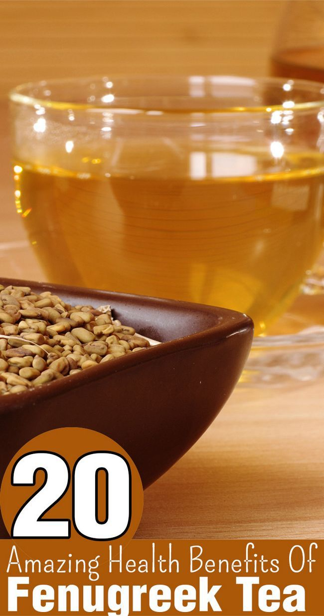 20 Erstaunliche gesundheitliche Vorteile von Bockshornklee Tee