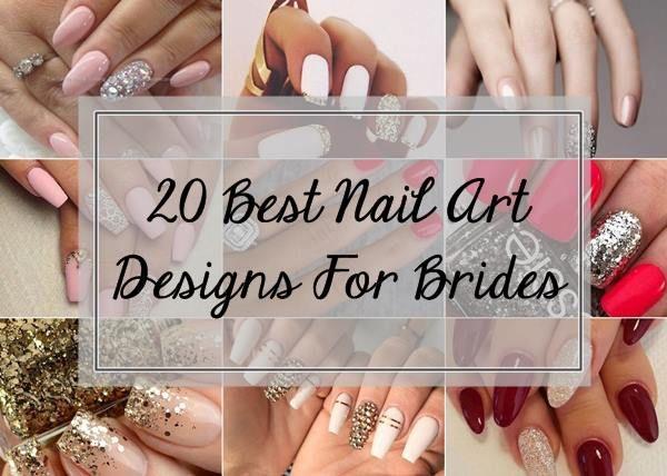 20 Top Brautnageldesign