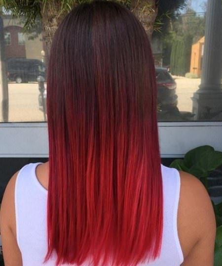 20 Classy ombre Haarfarbe
