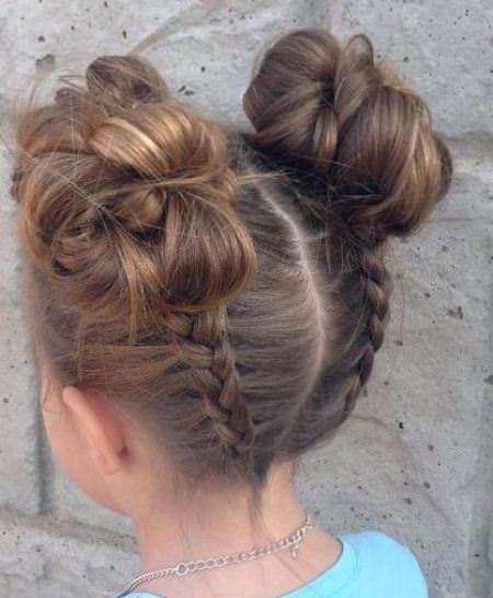 20 Frisuren für kleine Mädchen