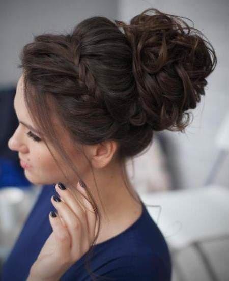 20 Messy Bun Frisuren für prom