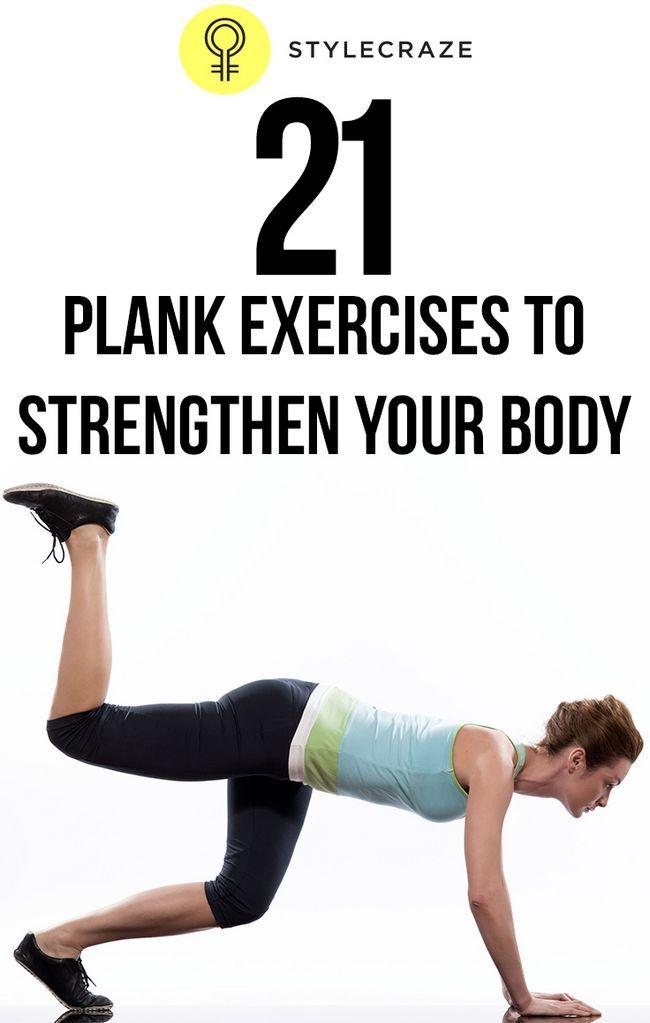 21 Effektive Planke Übungen Ihren Körper zu stärken