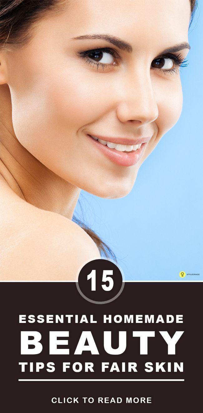 22 Wesentliche hausgemachte Beauty-Tipps für schöne Haut