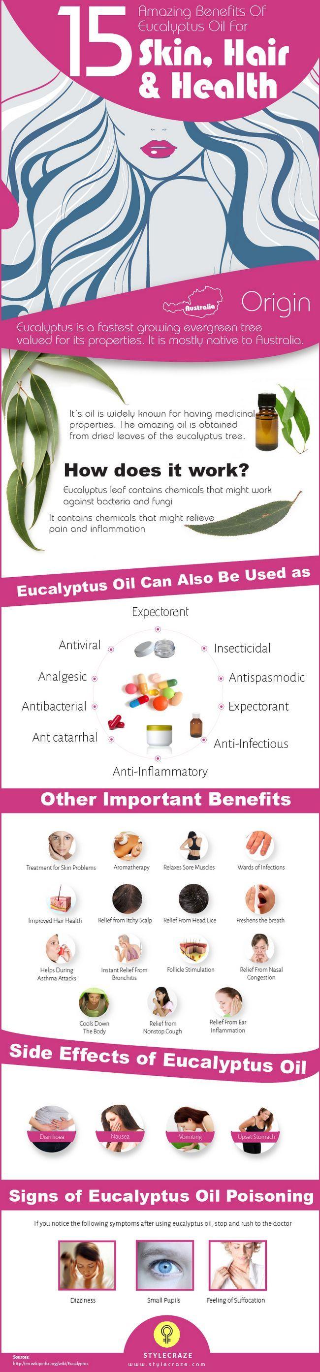 23 Erstaunliche Vorteile von Eukalyptusöl für Haut, Haare und Gesundheit