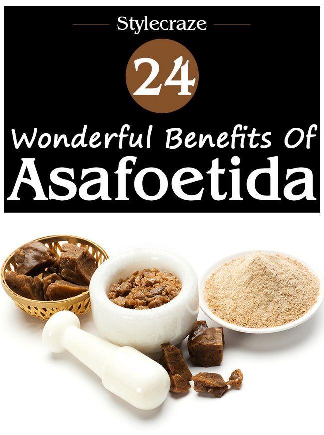 24 Wunderbare Vorteile von Asafoetida (Hing) auf die Gesundheit und die Haut