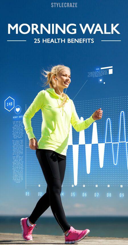 25 Erstaunlicher Nutzen für die Gesundheit von Morgen zu Fuß