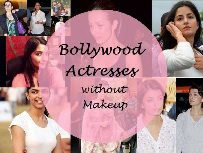 25 Bollywood Schauspielerinnen, die ohne Make-up wunderschön aussehen