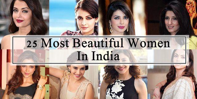 25 Schönste Frauen in Indien