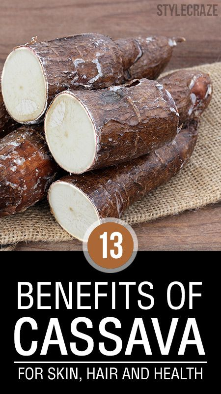 26 Erstaunliche Vorteile von Maniok für Haut, Haare und Gesundheit