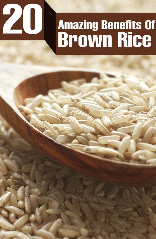 27 Erstaunliche Vorteile von braunem Reis für Haut, Haare und Gesundheit
