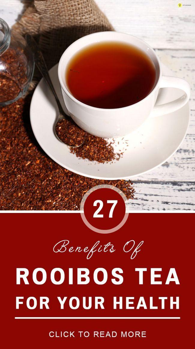 27 Vorteile von Rooibos-Tee für Ihre Gesundheit