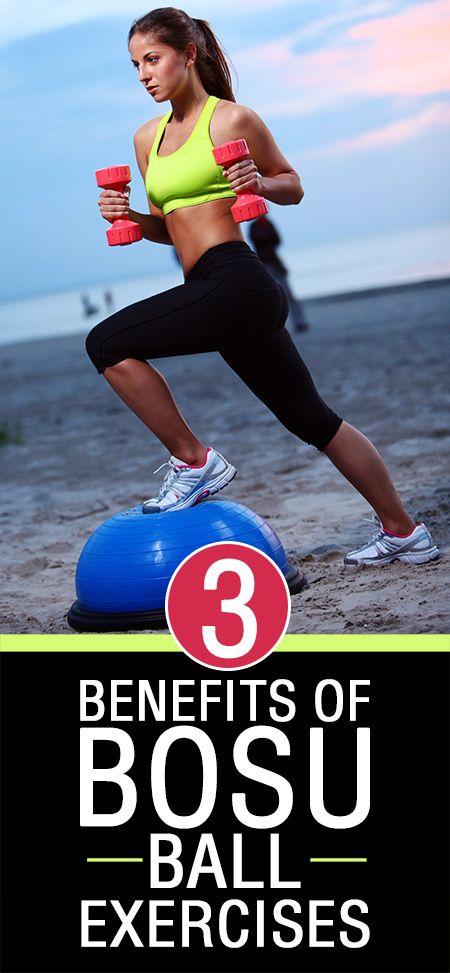 3 Erstaunliche Vorteile von bosu Ball Übungen