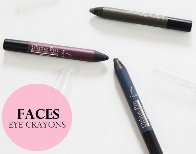 3 Gesichter Ultime pro Lidschatten Wachsmalstiften: Bewertungen, Schattierungen, Muster