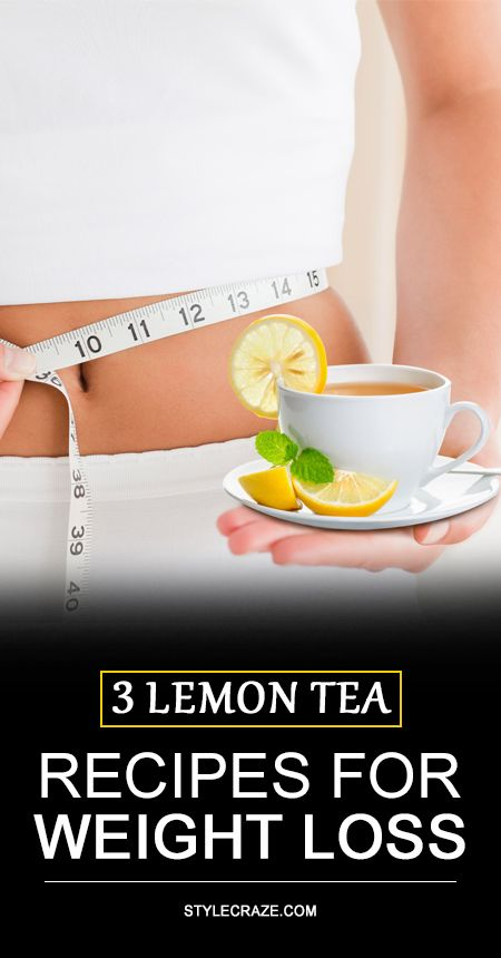 3 Einfache Zitronentee Rezepte für Gewichtsverlust