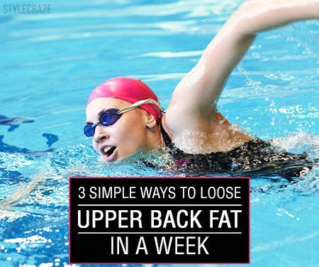 3 Einfache Möglichkeiten, den oberen Rücken Fett in einer Woche zu verlieren